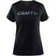 Craft W's Prime Logo Tee Black